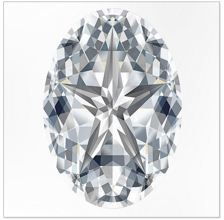 The Oval Stardiamond™ Cut